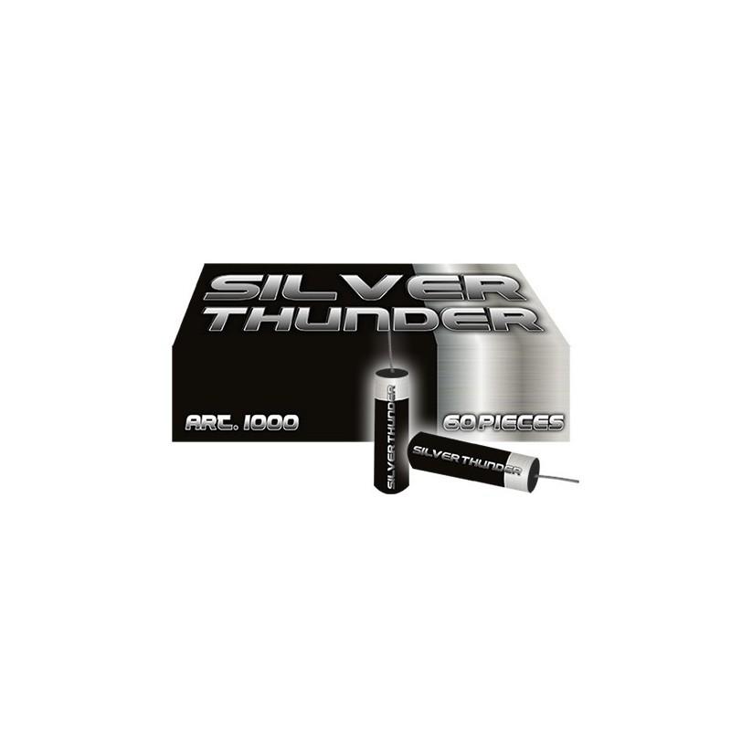 Silver Thunder Rotjes 60 stuks  art-nr: 1000