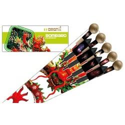 DRGN Bombard Rockets - 9 vuurpijlen  art-nr: 8720