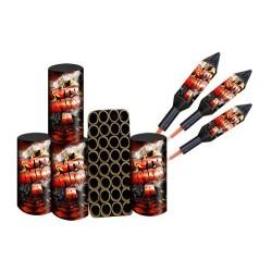 Pyromaniacs A Vuurwerkpakket  art-nr: 7181