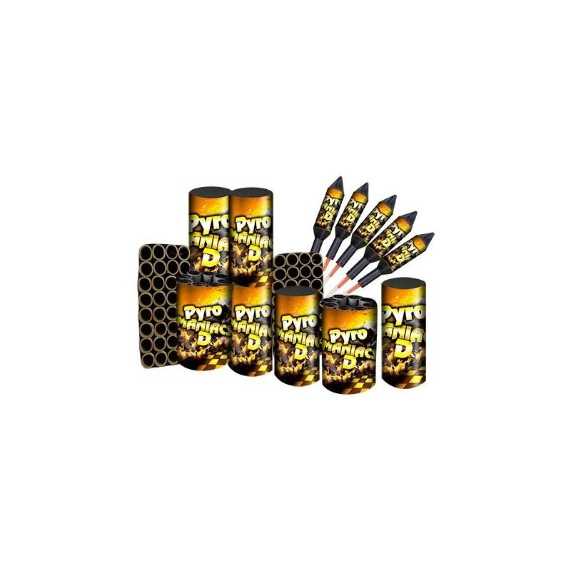 Pyromaniacs D Vuurwerkpakket  art-nr: 7184